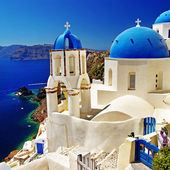 Colors of Greece series - Santorini — Stock Photo
