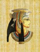 Egyptische papyrus — Stockfoto