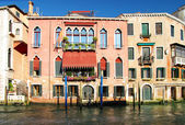 Ongelooflijke venetië - traditionele venetiaanse architectuur — Stockfoto