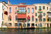 Unglaubliche venedig - traditionelle venezianische architektur — Stockfoto