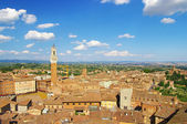 View of medieval town Siena (Toskany) — Foto de Stock