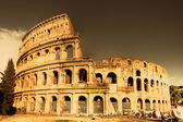 Colosseum - italian landmarks series-artistic toned picture — Stock Photo
