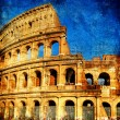 Rome - great italian landmarks series - Stock Photo