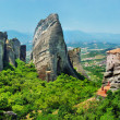 Meteora Monasteries - wonder of Greece - Stock Photo
