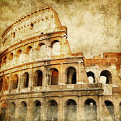 Colosseum - great italian landmarks series — Stock Photo