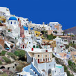 Santorini - beautiful pearl of Aegean - Stock Photo