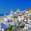 Travel in Greece series - Santorini - Stock Photo