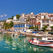 Picteresque town in Greece - Stock Photo