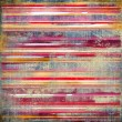 Vintage striped fabric background — ストック写真