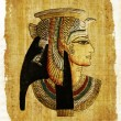 Old egyptian parchment — Stockfoto