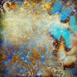 Foto de Stock  : Artistic background with butterflies