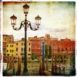 Venice - artistic picture - Stock Photo