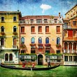 Colors of Venice - artistic picture — Stock Photo