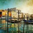 Amazing Venice - artwork in painting style - Stock Photo