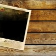 Royalty-Free Stock Photo: Vintage background with old frame