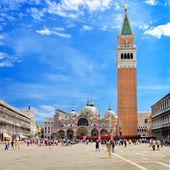 Benátky - san marco náměstí — Stock fotografie