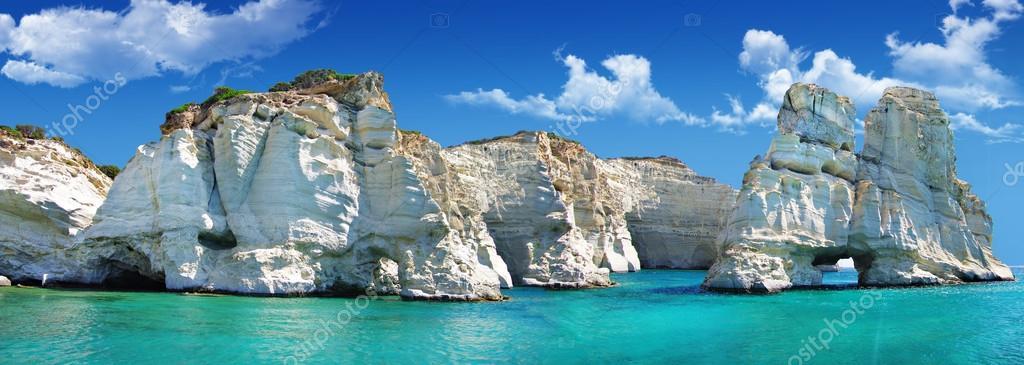 Фотообои Отдых в Греции - прекрасный остров Милос