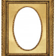 Classy golden frame — Stock Photo