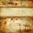 Vintage autumn background with place for text — Stock Photo #12820241