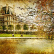 Parisian autumn — Stock Photo