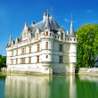 Stock Photo: Amazing castles of Loire valley - Azey