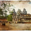 Temples of ancient Cambodia — Stock Photo