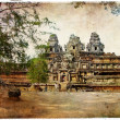 Stock Photo: Temples of ancient Cambodia