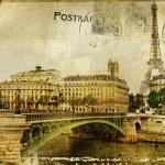 Paris paris.. vintage photoalbum series — Stock Photo