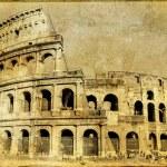 Colosseum - italian landmarks series — Stock Photo #12820538