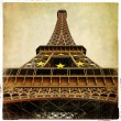 Eiffel tower - Parisian details - vintage series - Stockfoto