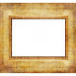 Stock Photo: Vintage wooden frame