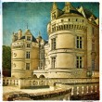 Le lude castle - artistic retro picture — Stock Photo #12820911