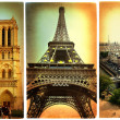 Royalty-Free Stock Photo: Paris paris.. vintage photoalbum series