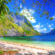 Stock Photo: Pictorial tropical shore