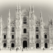Milan cathedral - italian landmarks series — Stock Photo #12821081