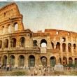 Great colosseum - artistic retro styled picture — Stock Photo #12821152