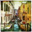Stok fotoğraf: Amazing Venice -artwork in painting style