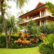 Tropical villa with beautiful garden — Stock Photo #12821337