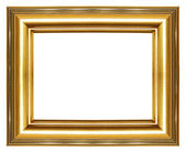 Elegant golden frame — Stock Photo