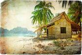 Tropiska ensamhet — Stockfoto