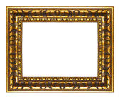 Wooden frame in egyptian style — Stock Photo