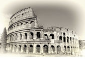 Colosseum -great symbol of Roman empire — Stock Photo
