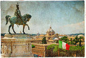 Rome - artistic retro styled picture — Stock Photo