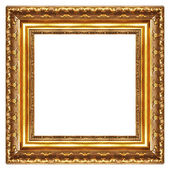 Classy gilded frame -square shape — Stock Photo