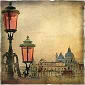Venetian pictures series - retro styled — Stock Photo