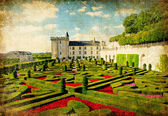 Beautiful castles of Loire valley — Stock Photo