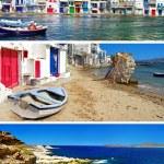 Traditional Milos island — Stock Photo #13164917