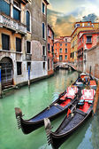 Beautiful romantic Venetian scenery — Foto Stock