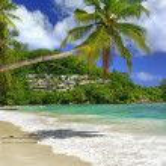 Tropical paradise — Stock Photo
