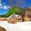 Seychelles islands - Stock Photo